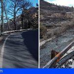 Adjudicada por la vía de emergencia la reparación de las carreteras afectadas por el incendio de Gran Canaria
