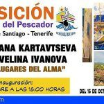 Velina Ivanova y Oksana Kartavtseva exponen en el Museo del Pescador de Puerto de Santiago
