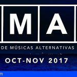 Noviembre sonará a nuevo gracias al Festival de Músicas Alternativas de Canarias