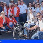 La deportista paralímpica Gema Hassen-Bey intentará coronar el Teide del 31 de Oct. al 12 de Nov.