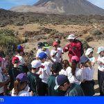 El programa de educación ambiental del Parque Nacional del Teide llegará a más de 5.000 escolares