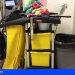 Trabajadores de Limpieza de «Ralons» en Sta. Cruz se movilizan por el impago y retrasos de salarios