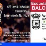 Abierta en San Miguel las inscripciones de la Escuela Municipal de Baloncesto