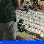 Interceptan un barco a 540 millas de las Islas canarias con 3.800 kilos de cocaína