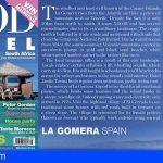 """Los sabores de La Gomera protagonistas en la revista inglesa """"Food and Travel"""""""