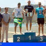Cuarenta y cuatro nadadores participaron en la XIX Travesía a Nado a Puntallana