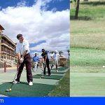 Todos juegan al golf en Hoteles Elba de Fuerteventura