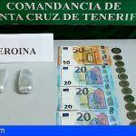 Detenido en La Palma con 74.1 gramos de heroína