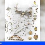 Detenidos los que sustrajeron las joyas de una ermita ubicada en San Juan de la Rambla