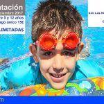 Una veintena de menores de San Miguel de Abona participarán en la Escuela de Natación