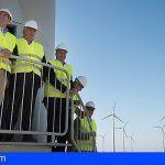 GRUPO ECOENER inaugura en Gran Canaria el complejo eólico más grande de todo el archipiélago