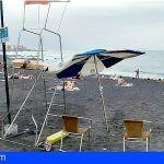 Los socorristas de las playas del Puerto de la Cruz llevan años en precario
