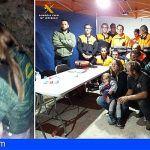 Un perro de raza podenco cuidó a una niña de 2 años desaparecida en Ávila por 7 horas