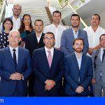 Santiago del Teide y los otros seis socios canarios presentan al Gobierno el proyecto ECOTUR