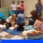 La ESSSCAN forma en Los Cristianos a educadores infantiles en Primeros Auxilios