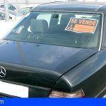 Instruyen en San Miguel 10 expedientes sancionadores por la venta de coches en las calles