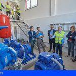 Reutilizan 2.800 m3 de agua regenerada al día para el riego de zonas verdes de la TF-5 y de La Laguna