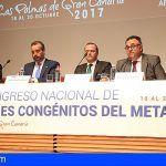 El XII Congreso Nacional de Errores en el Metabolismo se realiza en Las Palmas