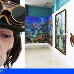 """Adeje acoge una exposición colectiva inspirada en el """"steampunk"""" y el """"retrofuturismo"""""""