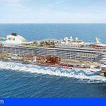 Viaje Inaugural a Las Palmas del «Aida Prima» el mayor crucero turístico alemán