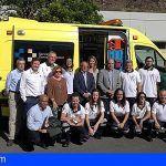Sanidad suma a la red de recursos del SUC en La Gomera una ambulancia medicalizada