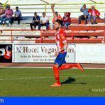 El tinerfeño David Amorín delantero del Don Benito continúa triunfando en la penísula