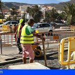 Avanzan a buen ritmo los trabajos de la Avenida V Centenario de La Gomera