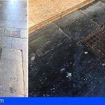 Comerciantes de la Avenida de Suecia de Los Cristianos reclaman mejor limpieza