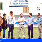 Inversión de 32.000 euros en Santiago del Teide para las mejoras en infraestructuras deportivas
