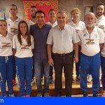 El Ayuntamiento de San Miguel recibe al único Club Deportivo de Atletismo del municipio