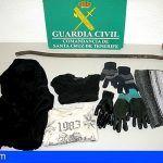 Detenido por cinco robos con fuerza en establecimientos comerciales de Tegueste