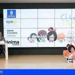 lanzamiento internacional en Gran Canaria de la serie 'Cleo&Cuquín'