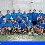 Bomberos de Tenerife celebran el VI Torneo de Pádel Memorial Acaymo Pérez