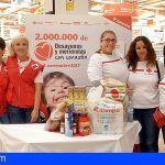 Cruz Roja recoge 30.000 desayunos y meriendas #ConCorazón en Tenerife