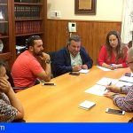 El ayuntamiento de Arafo se compromete para nueva plaza en el barrio El Carmen