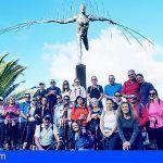 Casi una treintena de personas de San Miguel disfrutaron del sendero costero a Rojas