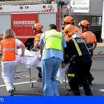 El Hospital Insular-Materno Infantil ha realizado un simulacro de incendio y evacuación
