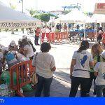 ´Arona Son Atlántico` convertirá mañana la Plaza de la Pescadora de Los Cristianos en aula medioambiental