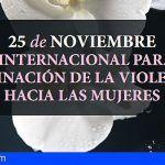 El Fraile acoge en Arona la lectura del manifiesto por el Día Internacional para la Eliminación de la Violencia contra la Mujer