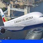 Arona marca su estrategia como destino sostenible en la World Trade Market de Londres