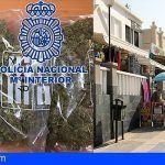 Detienen en Adeje a un hombre por tráfico de drogas en zonas de ocio de Fañabé