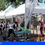 El Colegio de Fisioterapeutas se estrenó en Adeje con 61 asistencias en el Tenerife Bike Experience