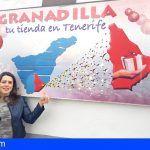 La campaña comercial 'Granadilla, tu tienda en Tenerife' circula por toda la Isla esta Navidad