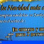 Un crucero por las islas y una cena para dos, premios de la campaña comercial de Santiago del Teide