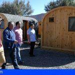El Cabildo concluye las mejoras del Camping de Montaña Roja