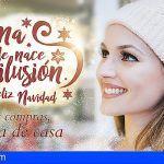 Descuentos, regalos y sorteos de viajes para los clientes de los comercios de toda Arona en Navidad
