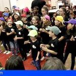 La coral Añaza Gospel Kids, formada por treinta niños de 7 a 15 años, actúa mañana miércoles en Adeje