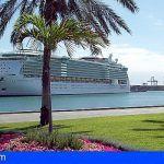 El Puerto de La Luz y de Las Palmas, líderes de Cruceros, en Canarias