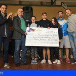 El IES San Miguel dona 2.225 euros para causas solidarias