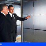 Ultimando detalles para la presentación oficial de Ciberpol en Canarias